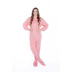 Flexible Jersey Footed Onesies For Women