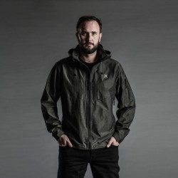 Removable Hood Alpha Series 3L Hybrid Jacket