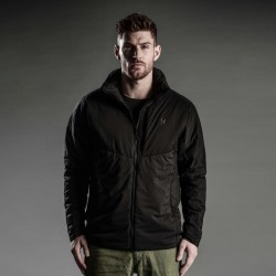 Mid-Layer Softshell Polyester Men Winter Jacket