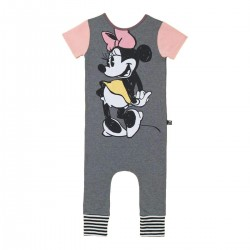 Minnie Mouse Retro Rag Romper for Toddler Girls
